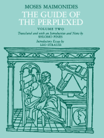 The Guide of the Perplexed, Volume 2