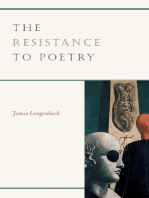 The Resistance to Poetry
