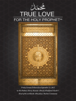 True Love for the Holy Prophet
