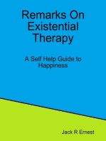 Remarks On Existential Therapy