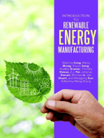 Introduction to Renewable Energy Manufacturing