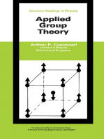 Applied Group Theory: The Commonwealth and International Library: Selected Readings in Physics