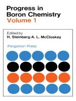 Progress in Boron Chemistry