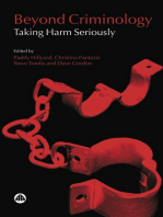 Beyond Criminology: Taking Harm Seriously