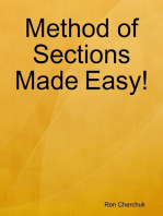 Method of Sections Made Easy!
