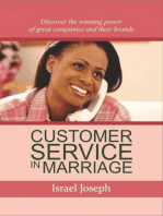 Customer Service In Marriage (Customer Servicing Spouse)