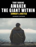 Tony Robbins' Awaken The Giant Within Summary And Analysis: