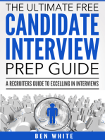 The Ultimate Free Candidate Interview Prep Guide
