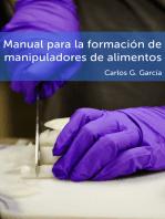 Manual para la formación de manipuladores de alimentos
