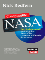 Conspirațiile NASA. Adevărul din spatele aselenizărilor, fotografiilor cenzurate și Chipului de pe Marte