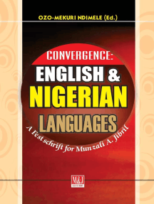Convergence: English and Nigerian Languages: A Festschrift for Munzali A. Jibril