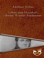 Leben und Haushalt dreier Wiener Studenten