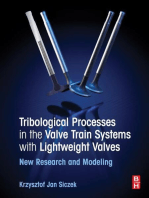 Tribological Processes in the Valve Train Systems with Lightweight Valves: New Research and Modelling