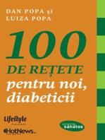100 de rețete pentru noi, diabeticii