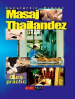 Masaj tailandez. Curs practic