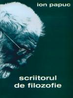 Scriitorul de filozofie