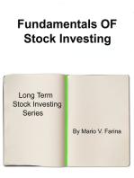 Fundamentals Of Stock Investing