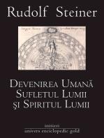 Devenirea umană, sufletul lumii și spiritul lumii