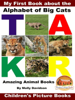 My First Book about the Alphabet of Big Cats