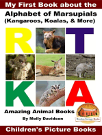 My First Book about the Alphabet of Marsupials (Kangaroos, Koalas, & More) - Amazing Animal Books - Children's Picture Books