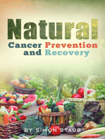 Natural Cancer Prevention and Recovery