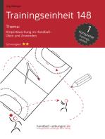Körpertäuschung im Handball - Üben und Anwenden (TE 148)