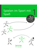 Spielen im Sport mit Spaß