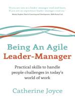 Being An Agile Leader-Manager