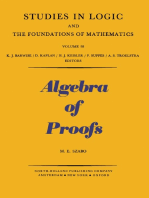 Algebra of Proofs