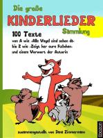 Die große Kinderlieder Sammlung
