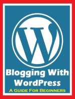 Blogging With Wordpress - A Guide for Beginners
