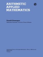 Arithmetic Applied Mathematics