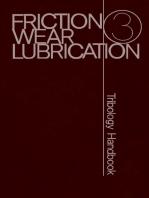 Friction Wear Lubrication: Tribology Handbook