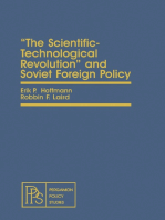 The Scientific-Technological Revolution and Soviet Foreign Policy