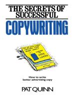 The Secrets of Successful Copywriting