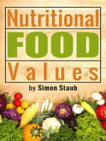 Nutritional Food Values