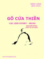 Gõ cửa Thiền (101 Zen Stories - Thiền sư Muju)