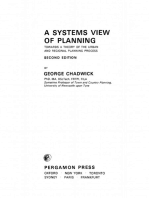 A Systems View of Planning: Towards a Theory of the Urban and Regional Planning Process