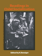 Readings in Child Socialization: The Commonwealth and International Library: Readings in Sociology