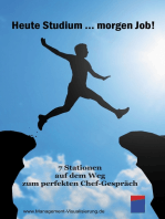 Heute Studium … morgen Job!