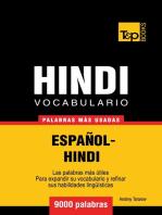 Vocabulario Español-Hindi