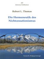 Die Hermeneutik des Nichtcessationismus