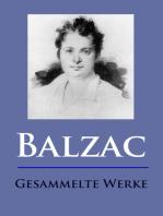 Balzac - Gesammelte Werke