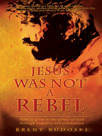 Jesus Was Not a Rebel