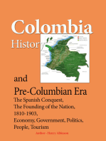 Colombia History, and Pre-Columbian Era