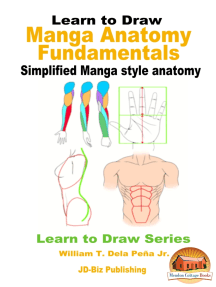 Learn to Draw: Manga Anatomy Fundamentals - Simplified Manga style anatomy