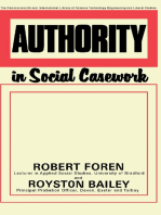 Authority in Social Casework