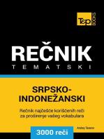 Srpsko-Indonežanski tematski rečnik: 3000 korisnih reči