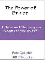 Ethics and the Lawyers