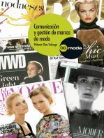 Comunicación y gestión de marcas de moda
